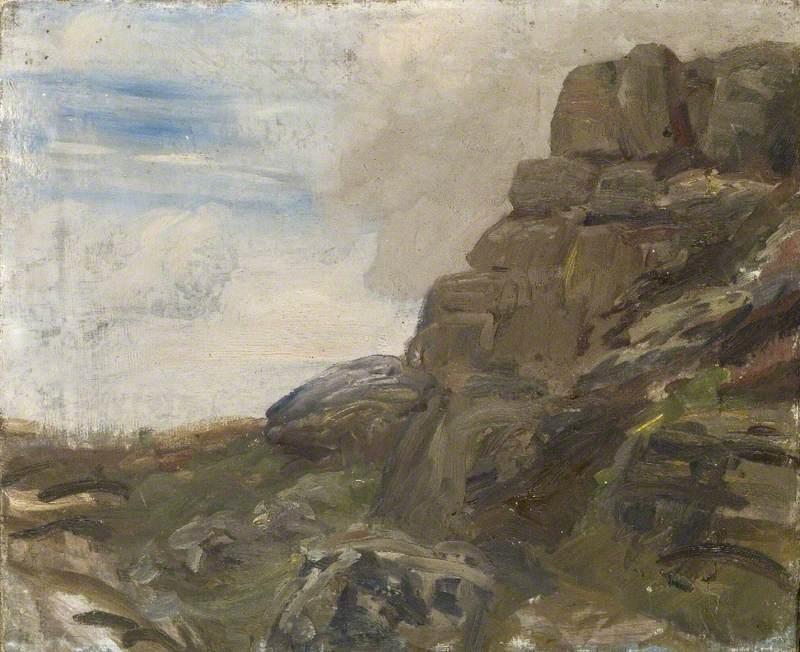 A Study of Rocks, Lamorna Cove