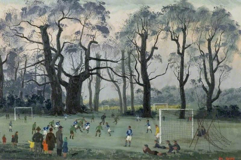Saturday Morning at Priory Park