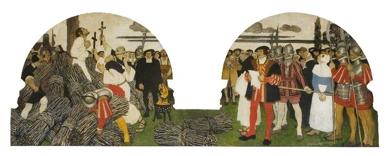 William Pygot, Protestant Martyred at Braintree, 28 March 1555