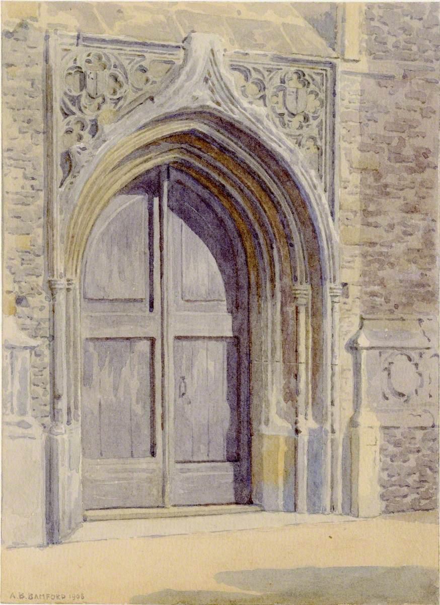The West Door, Chelmsford Church