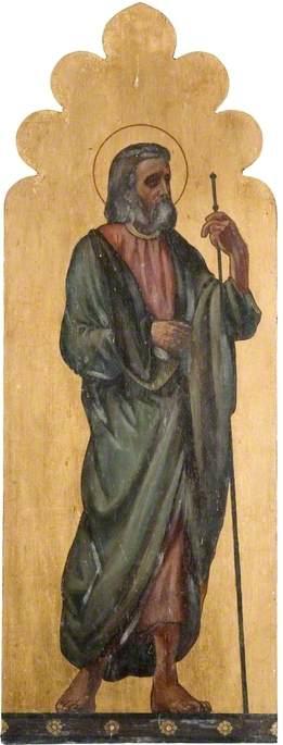 Saint with Staff