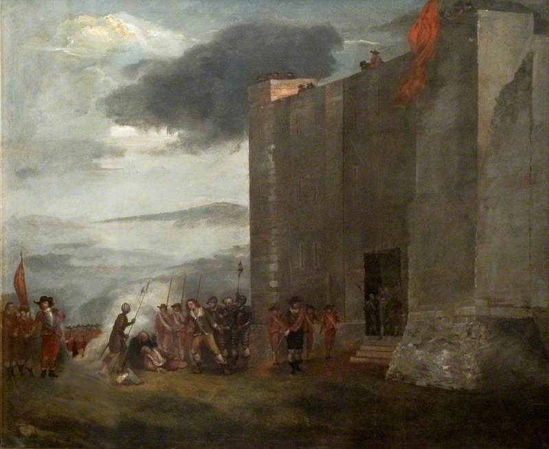 Execution of Sir Charles Lucas and Sir George Lisle at Colchester, 28 August 1648