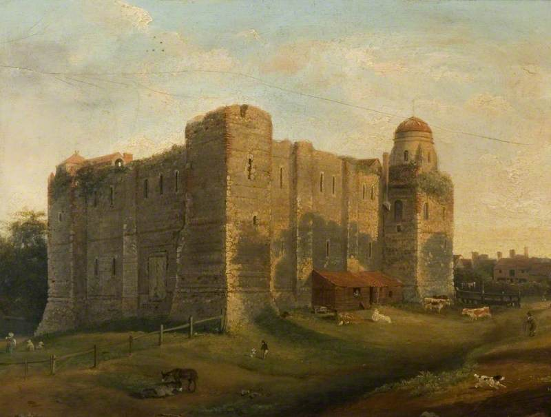 North-West View of Colchester Castle