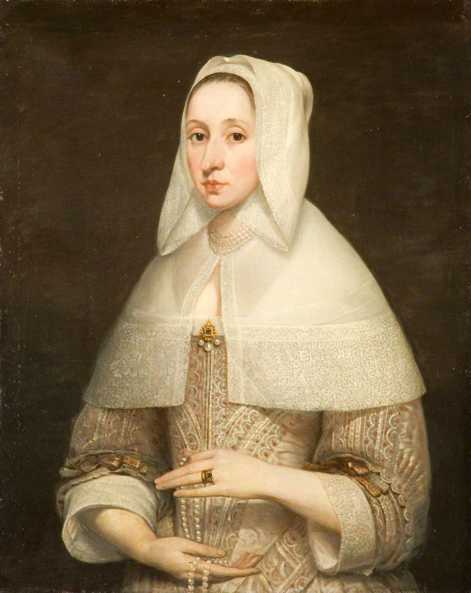 Portrait of a Lady in an Embroidered Dress