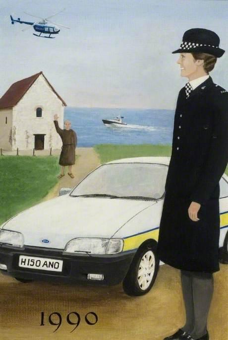 Essex Police, 1990 (Bradwell-on-Sea)