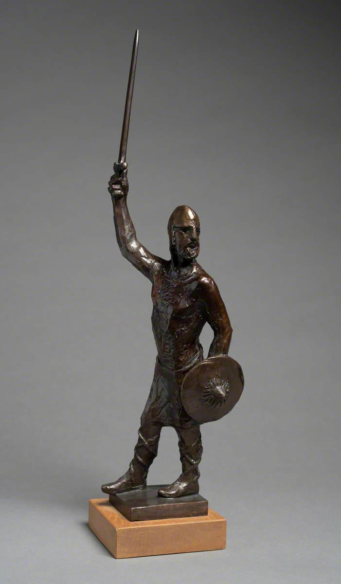 Maquette for 'Byrhtnoth'