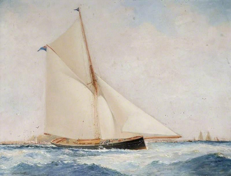 Cutter Yacht 'Moina'