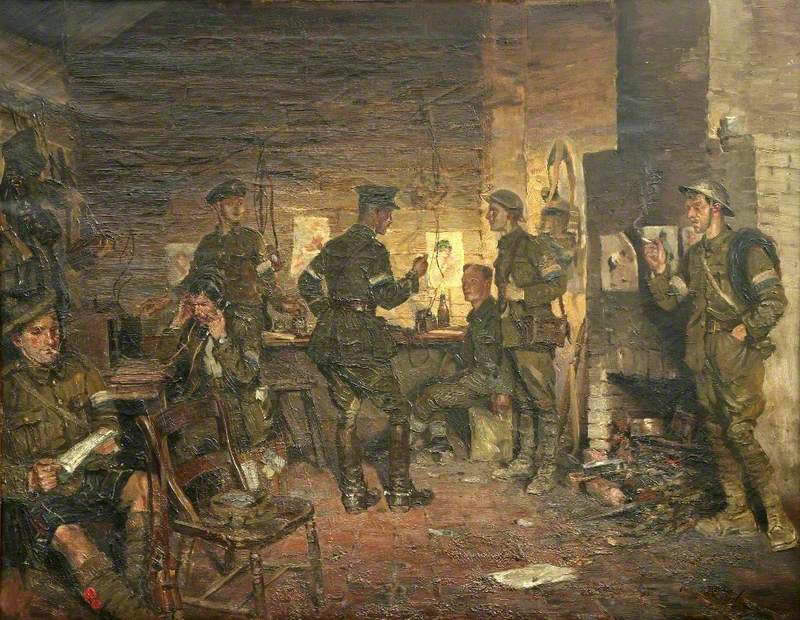 Infantry Brigade Signal Office, Flanders HQ