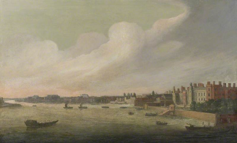 View of the Thames, Somerset House to Westminster