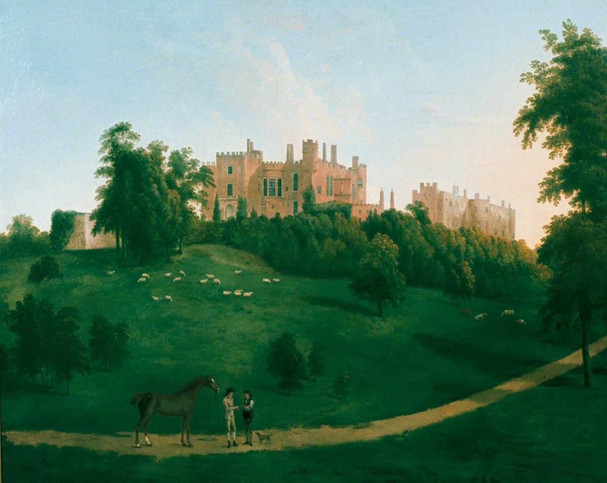 View of Powys Castle, Montgomeryshire