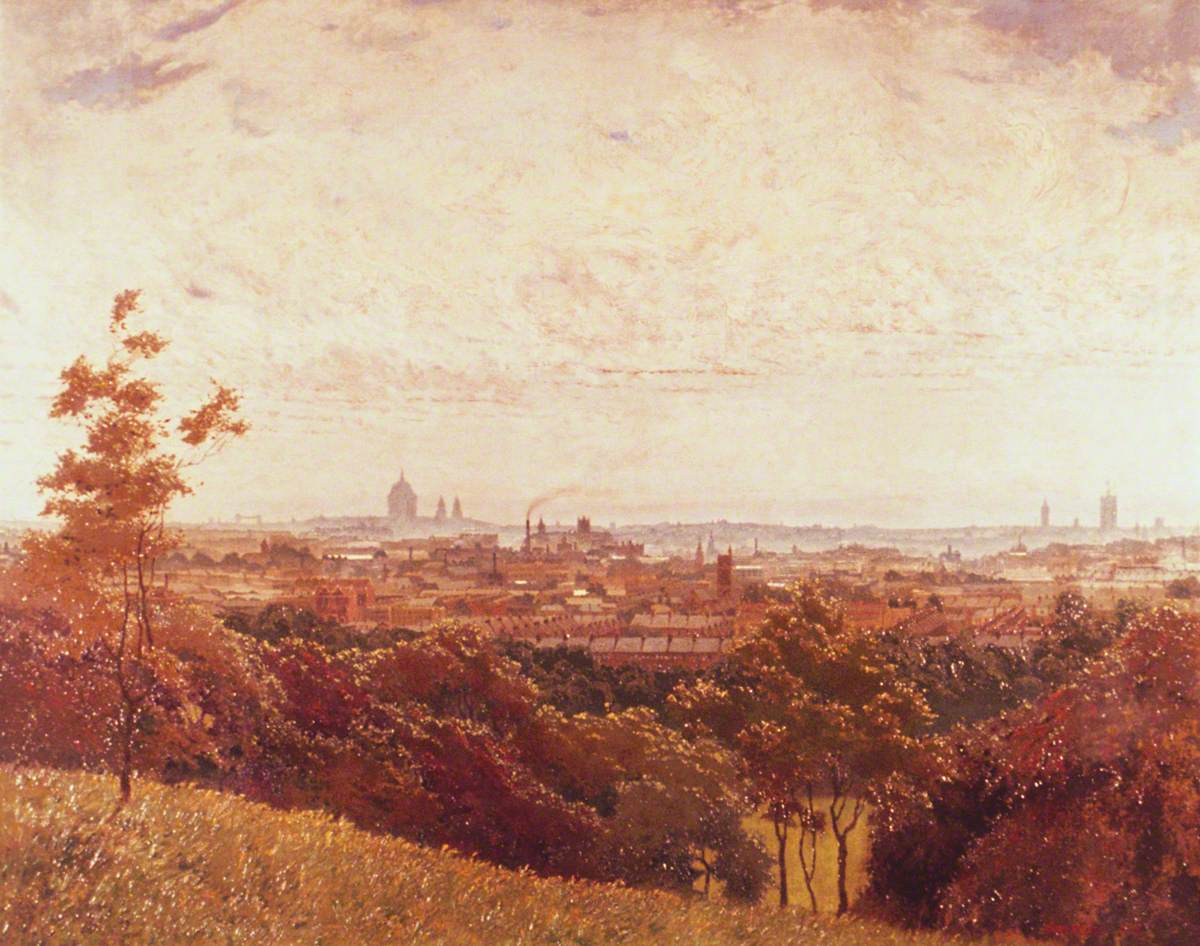 London from Parliament Hill, Hampstead