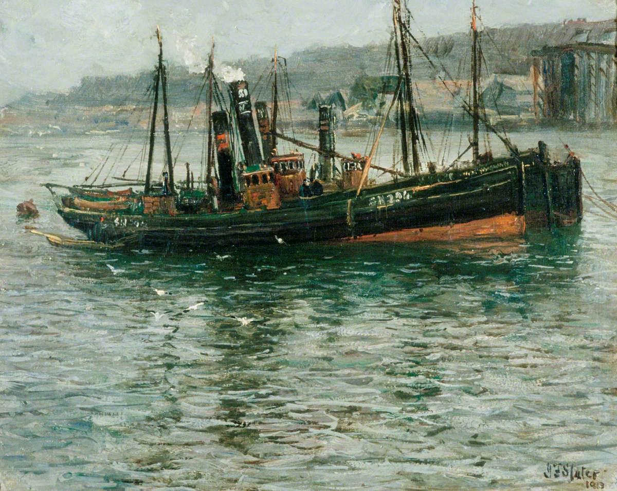 Trawlers, South Shields on the Tyne