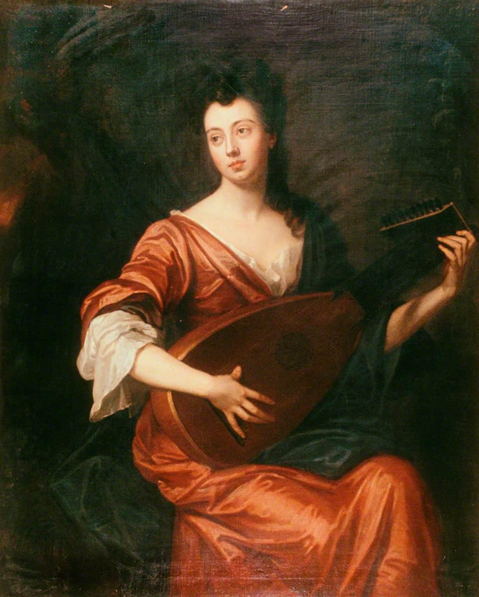 Mrs Arabella Hunt (1662–1705), Playing a Lute