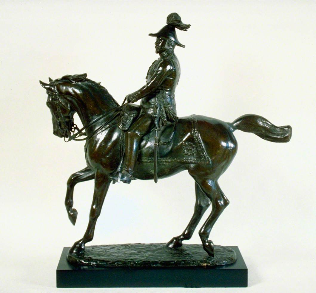 Edward VII (1841–1910) on Horseback with Baton