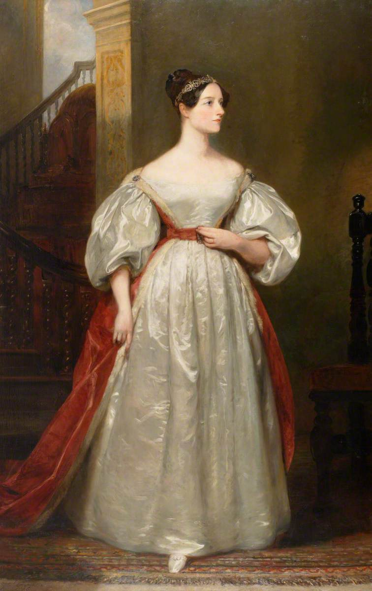 Ada King (1815–1852), Countess of Lovelace, Mathematician, Daughter of Lord Byron