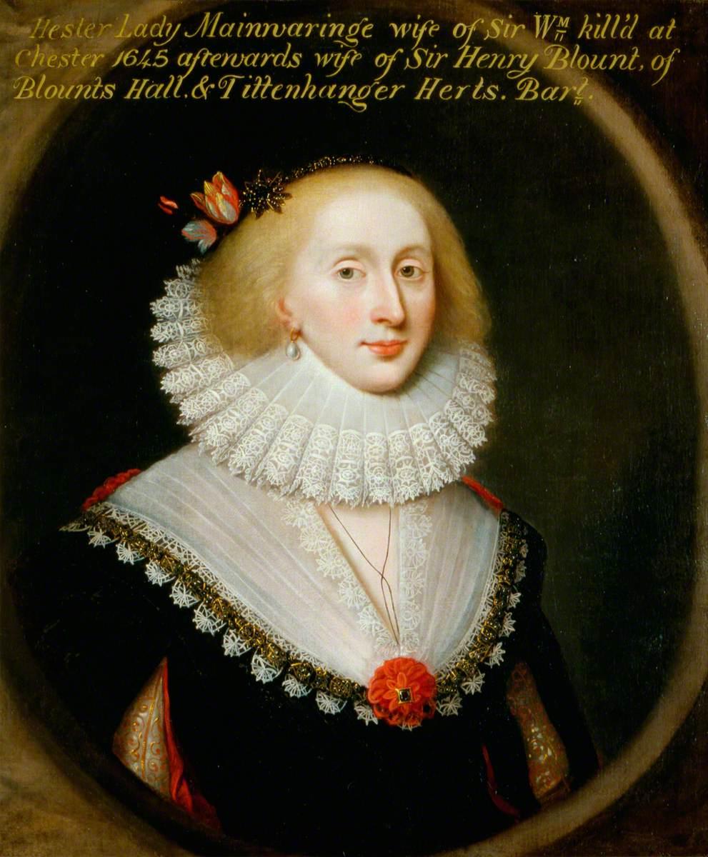 Lady Hester Mainwaring, née Wase (c.1620–1678)