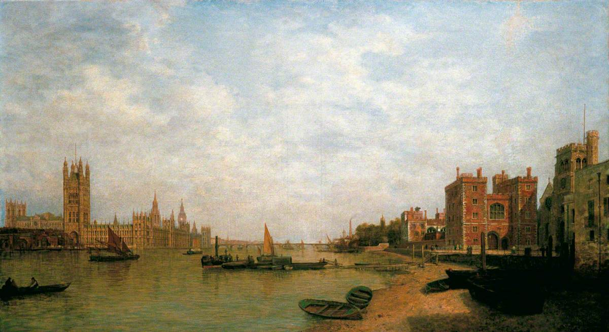Westminster from Lambeth