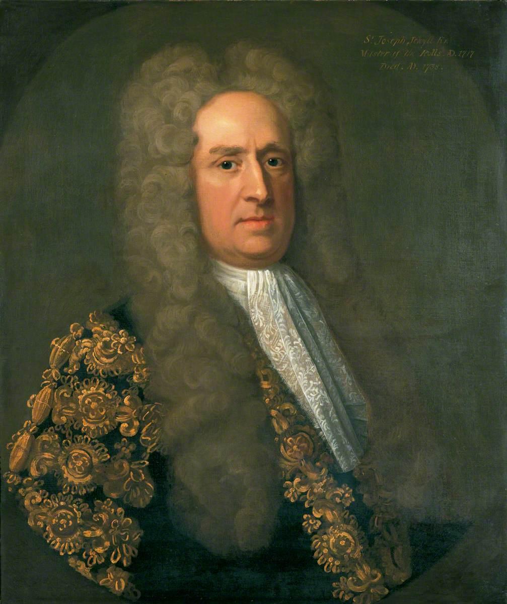 Sir Joseph Jekyll (1663–1738), Master of the Rolls