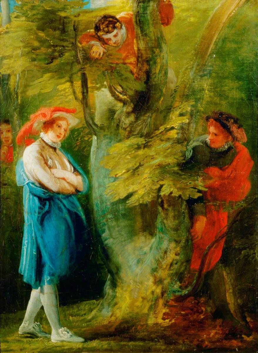 'Love's Labour's Lost', Act IV, Scene 3