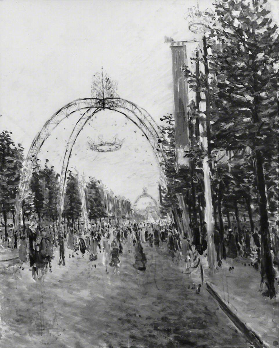 The Mall, 2 June 1953