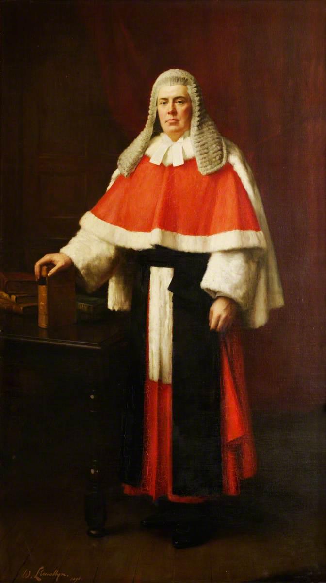 Sir John Barnes, 1st Baron Gorrell (1848–1913), Judge