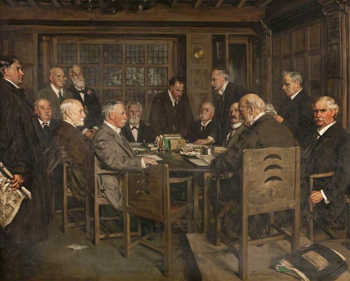 The Building Committee, Glasgow School of Art