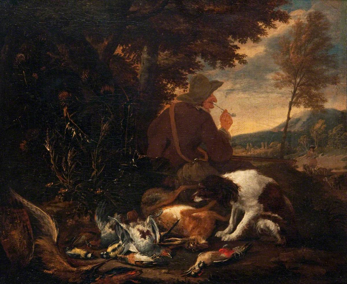 Landscape with Dead Game