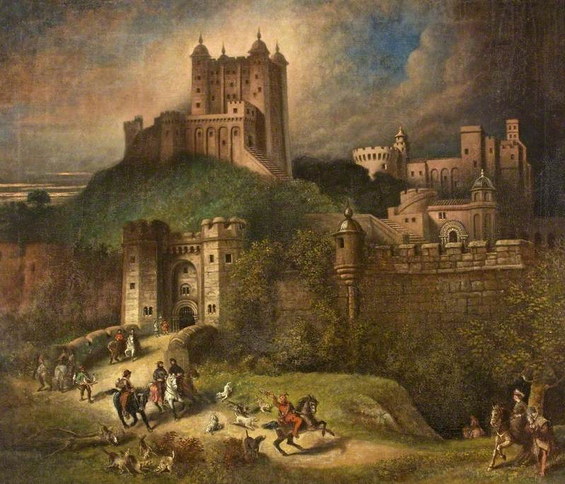 A View of a Fortified Town
