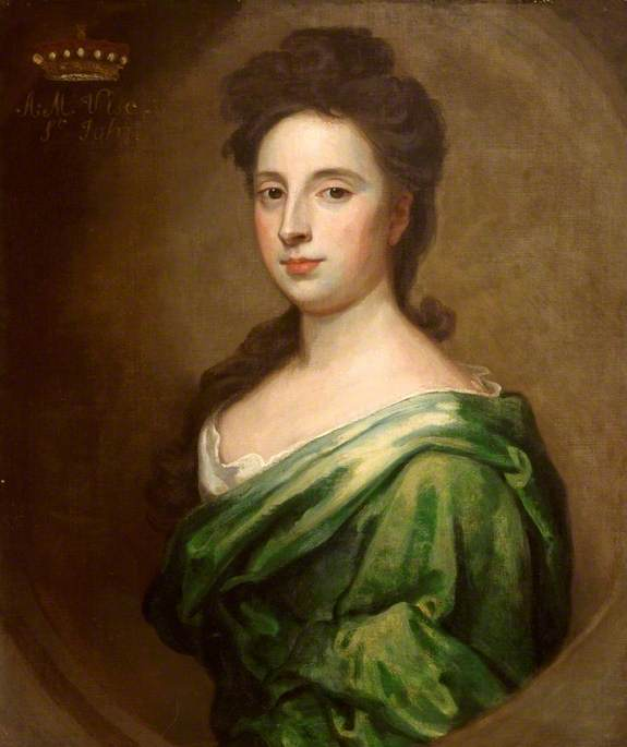 Angelica Magdalena Wharton, née Pelissary, (c.1664–1705), Second Wife of the 1st Viscount St John