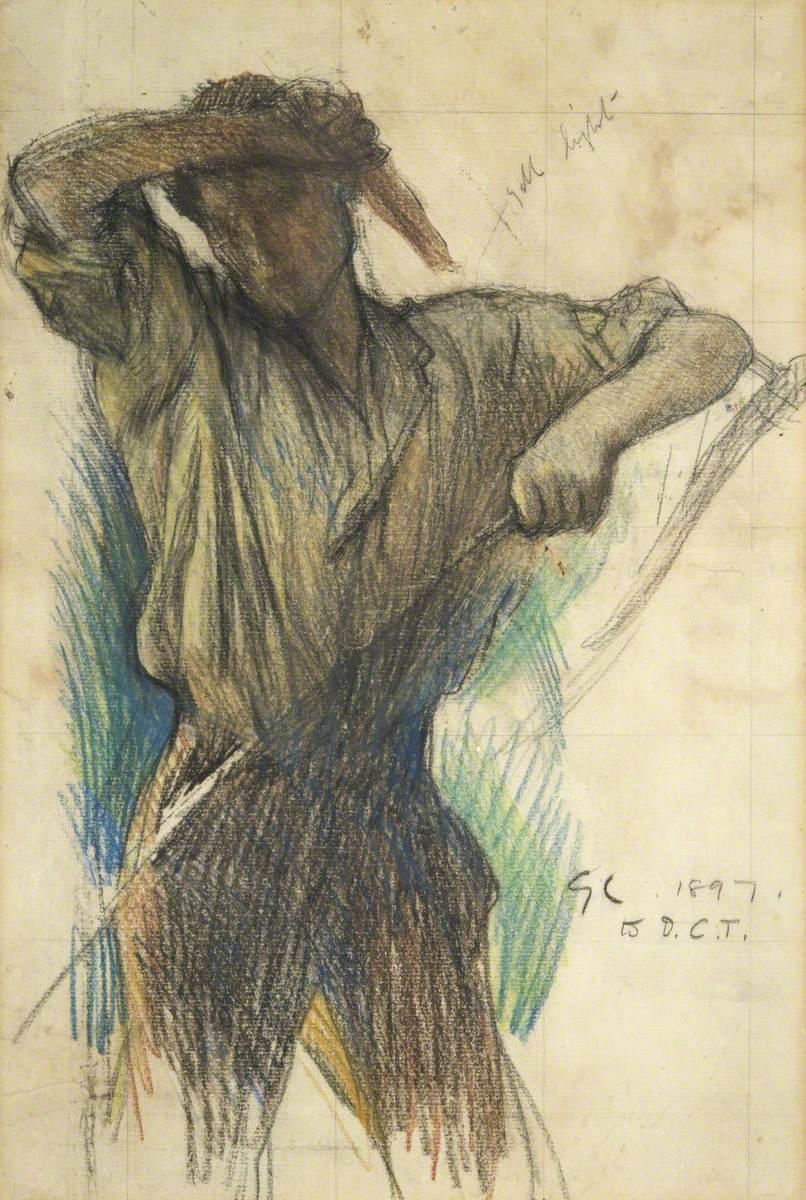 Torso (Man Honing a Scythe)
