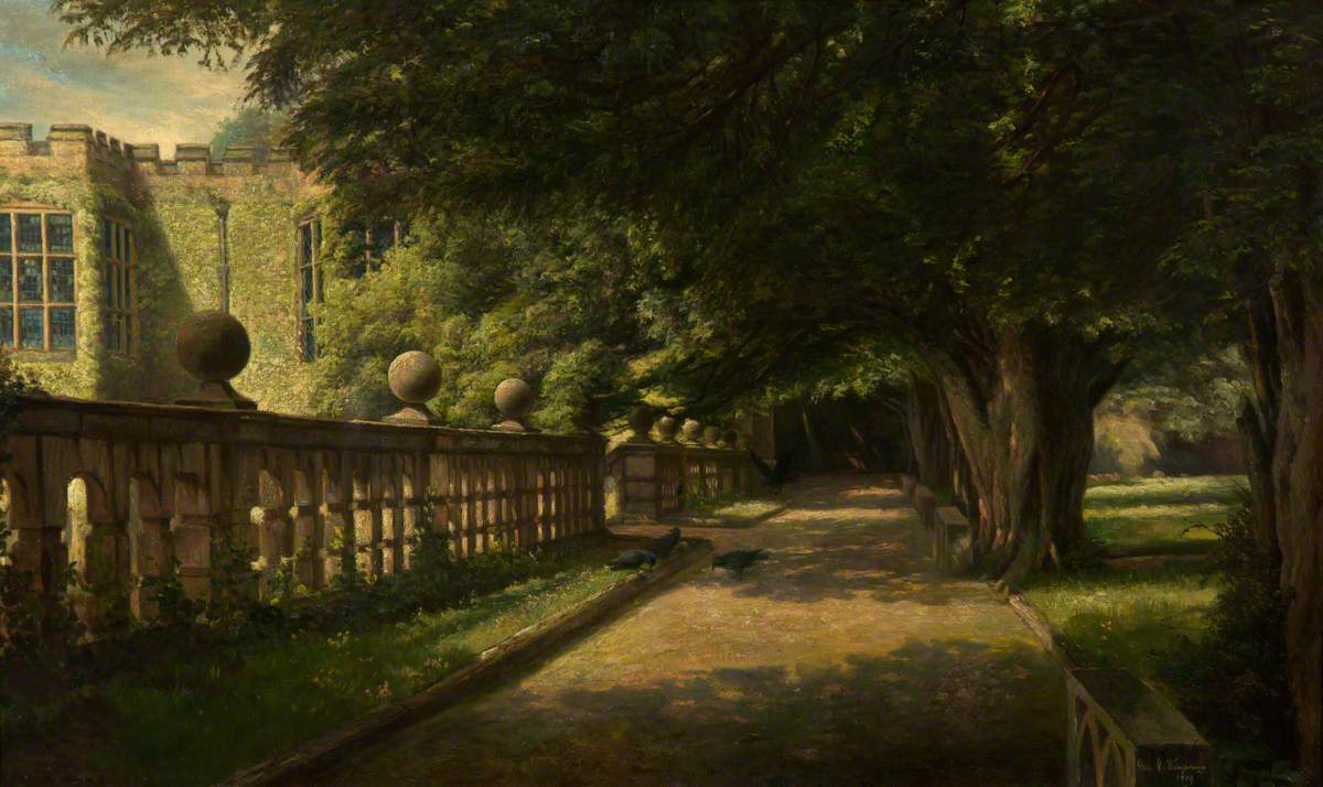 The Terrace, Haddon Hall, Derbyshire