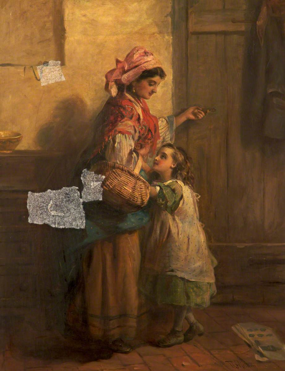 Spanish Woman and Child