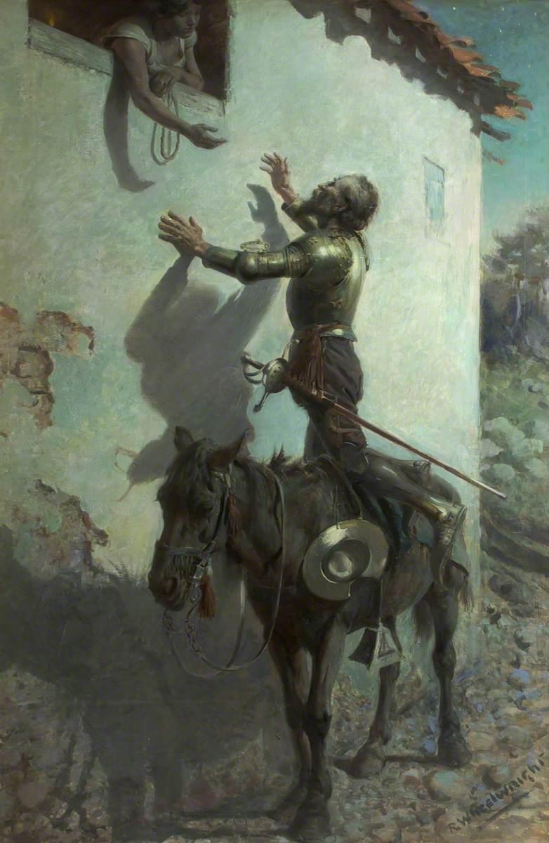 Don Quixote and Maritornes at the Inn