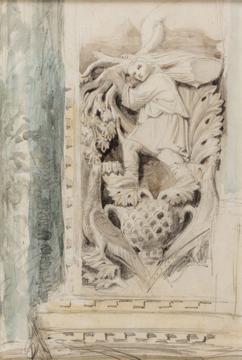 First of the Months' Sculptures – St Mark's, Venice