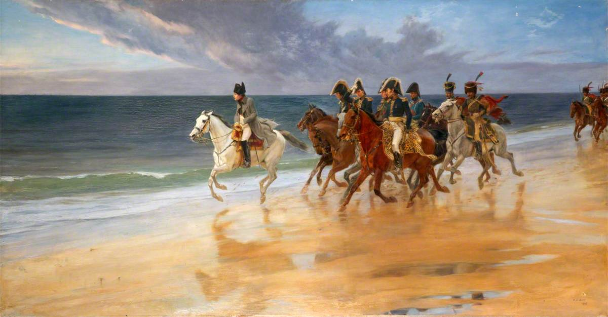 Napoleon on the Sands at Boulogne, France