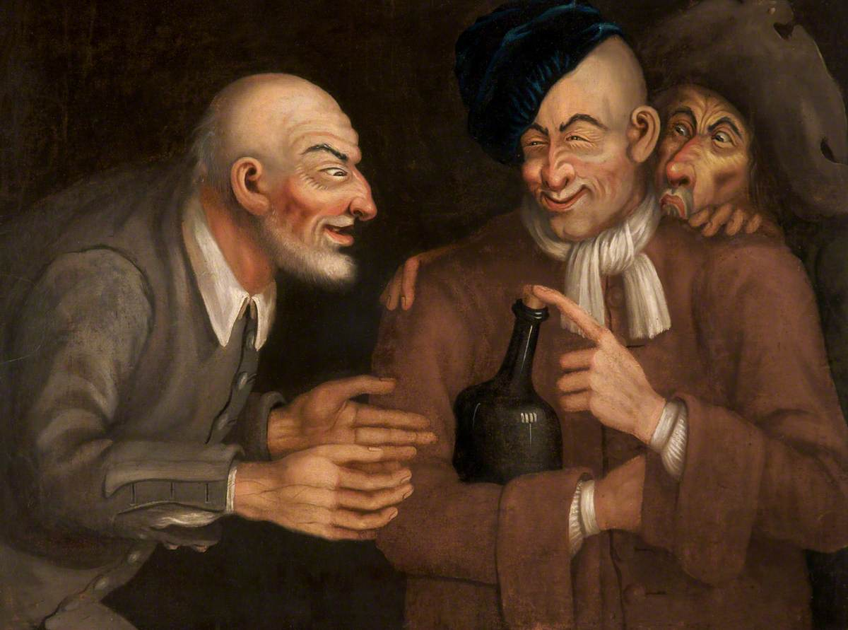 Human Passions (Three Drunkards and a Bottle)