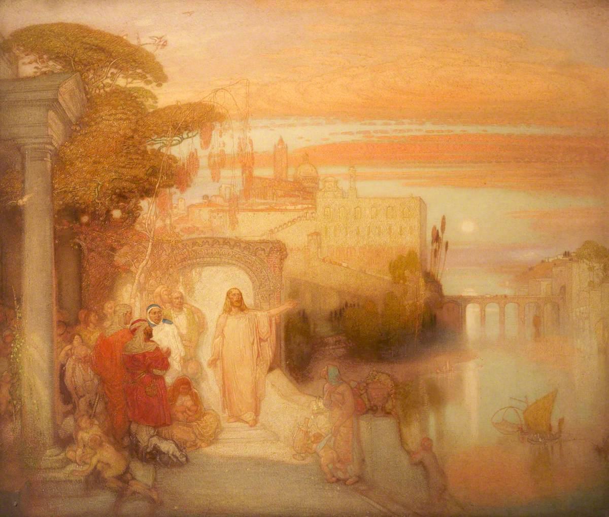Christ at Jerusalem