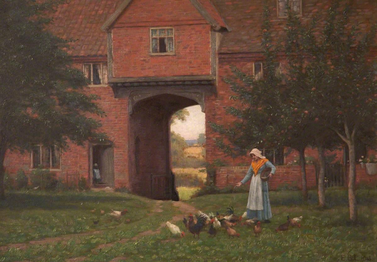 Hales Old Hall, Hales Green, near Norwich, Norfolk