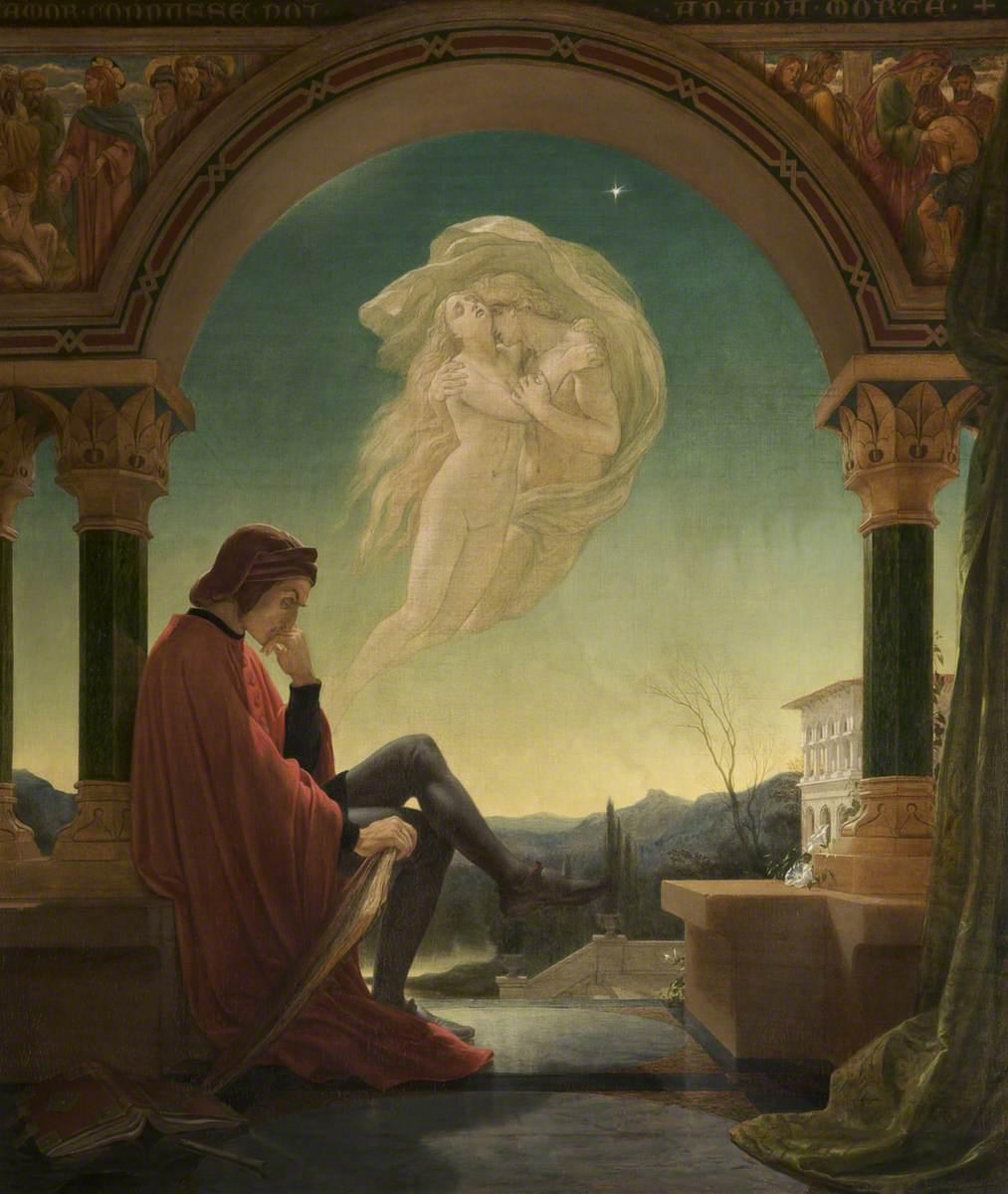 Dante Meditating the Episode of Francesca da Rimini and Paolo Malatesta
