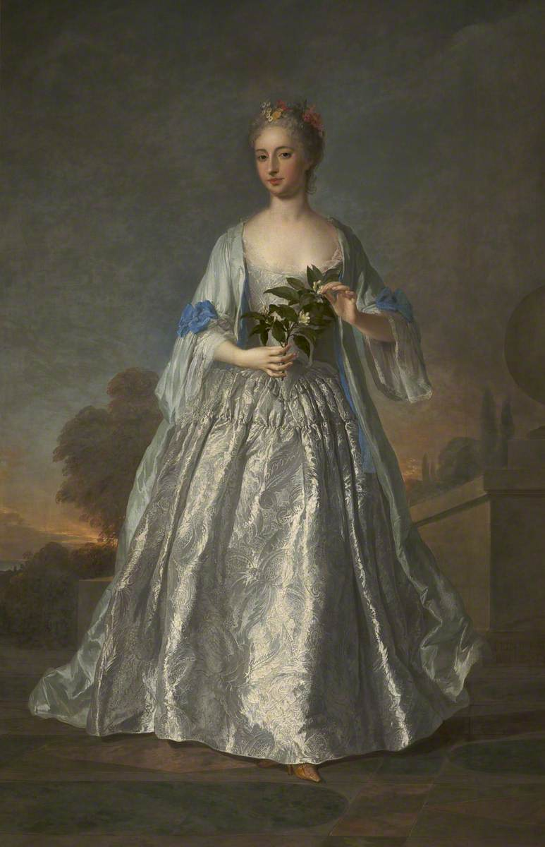Portrait of a Lady Dressed in White