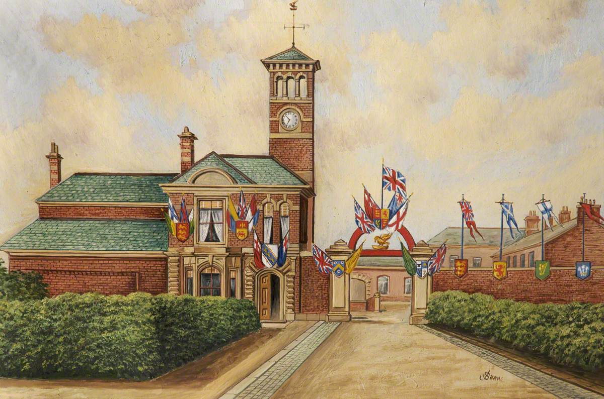 Lord Derby's Works, Redvales, Bury, 1893