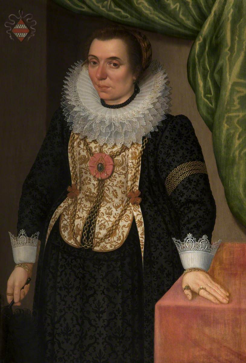 Portrait of a Burgomaster's Wife