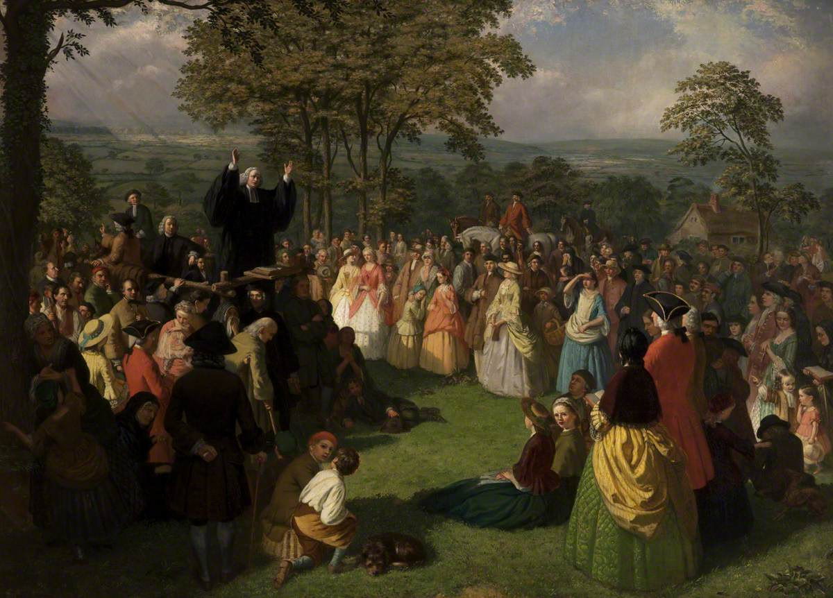 George Whitefield Preaching in Bolton, June 1750