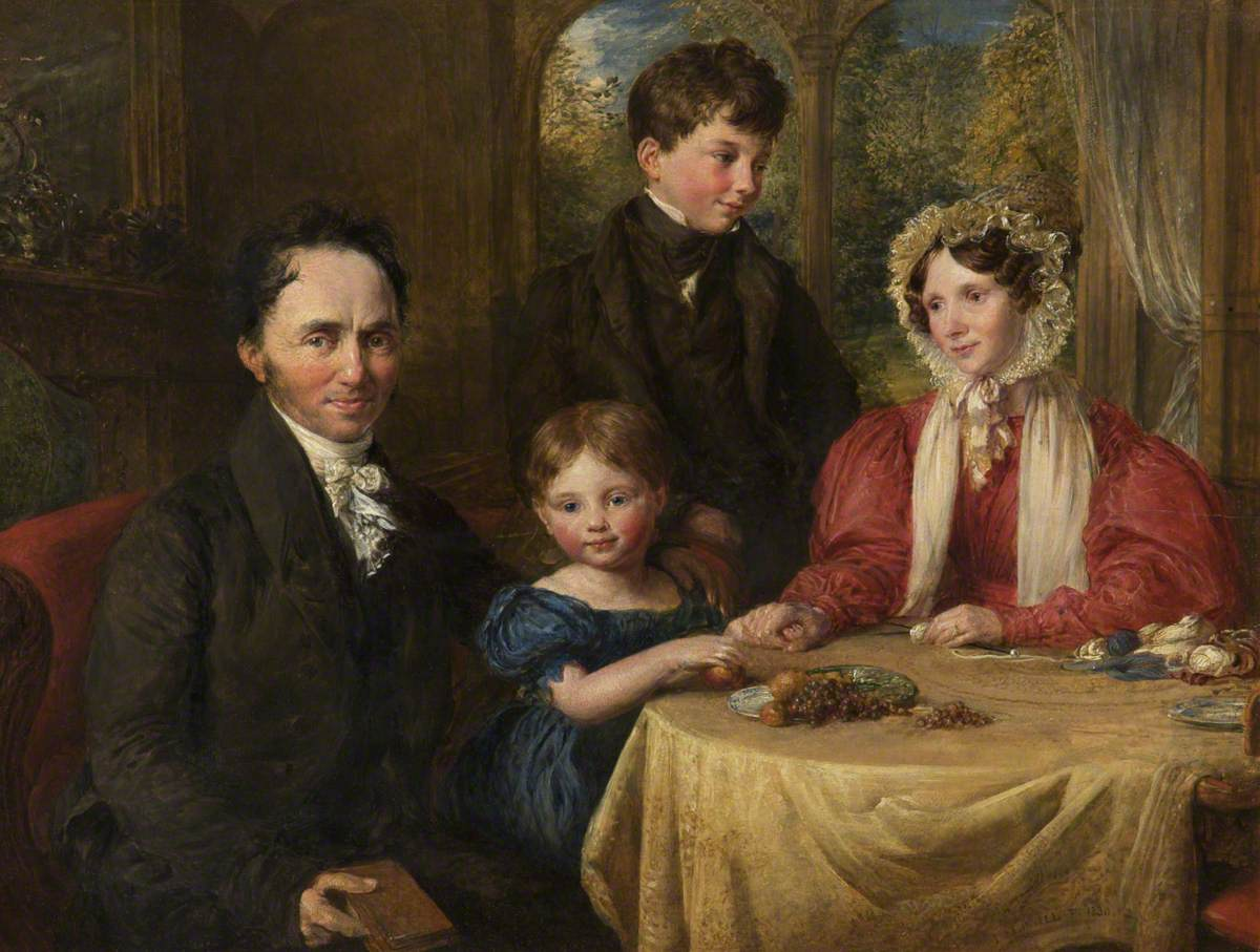 William Albin Garratt (1780–1858), and Family