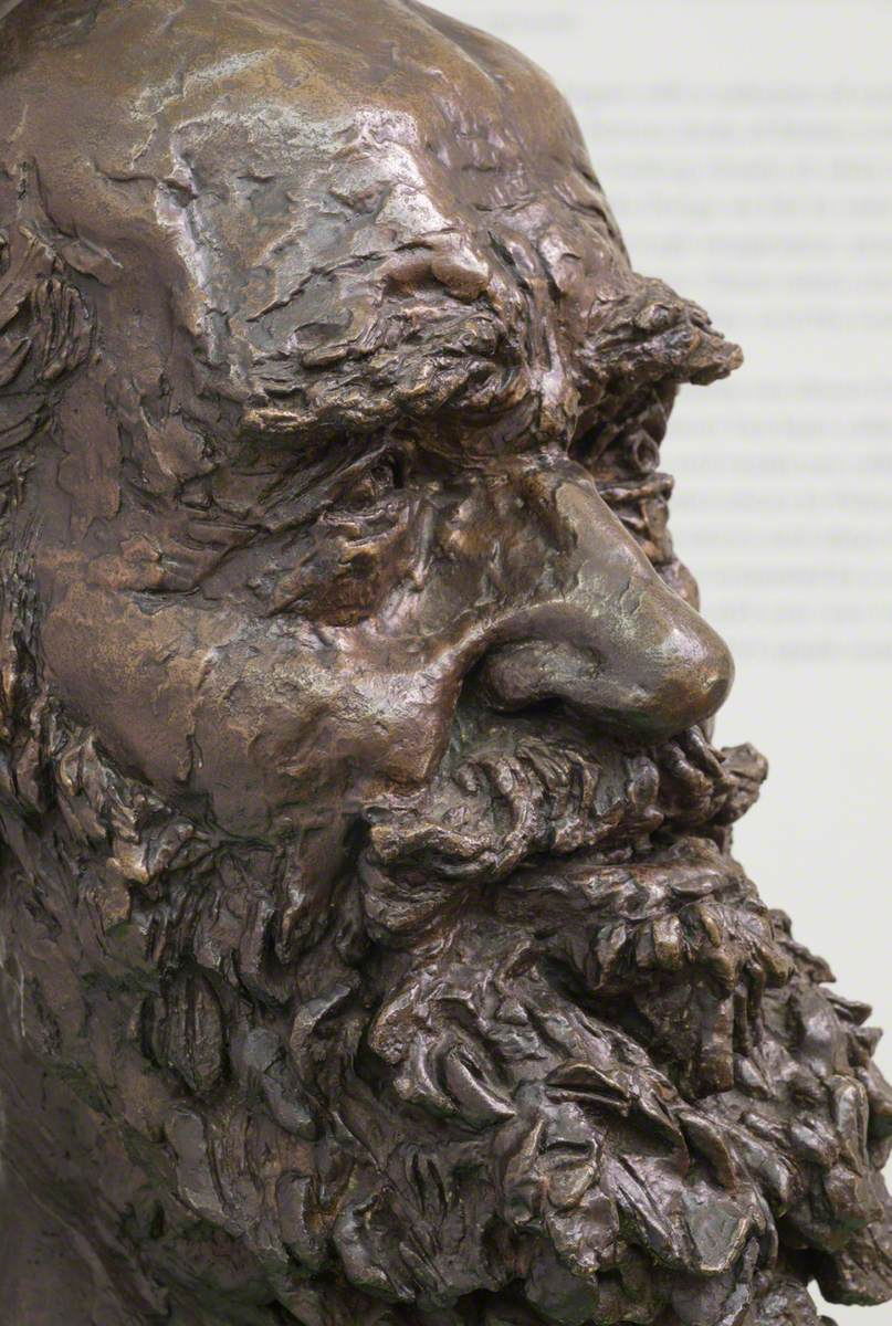 Second Portrait of George Bernard Shaw (1856–1950)