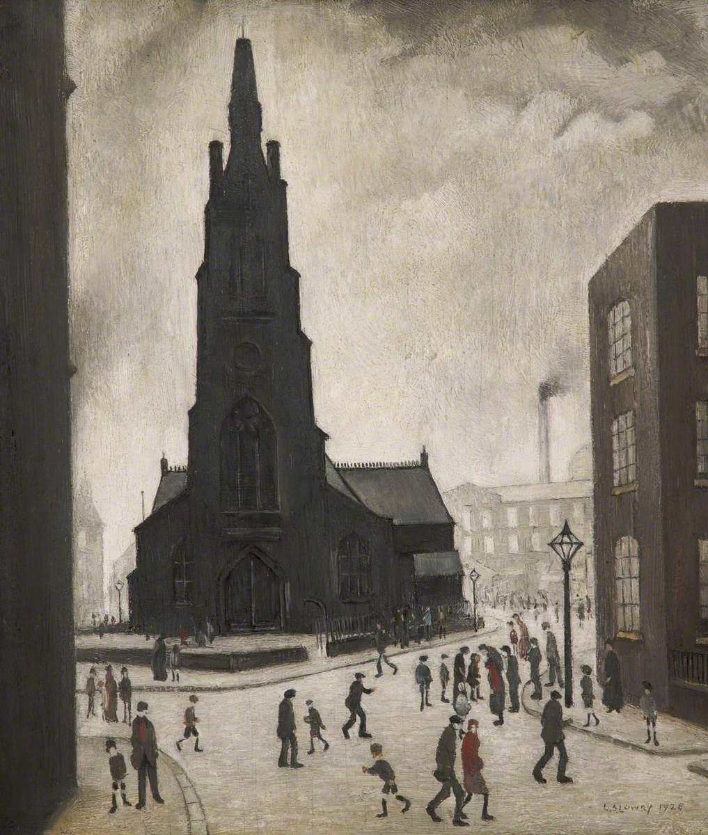 A Street Scene (St Simon's Church)
