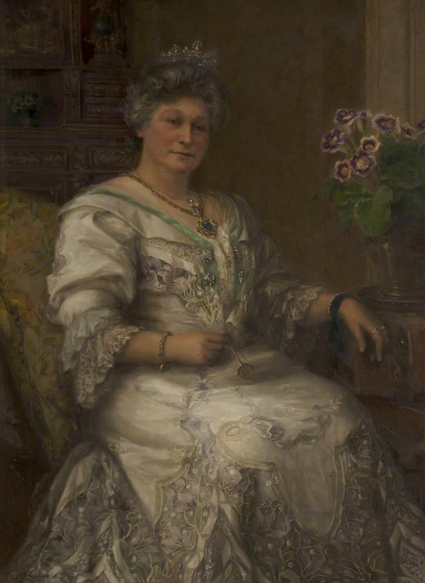Mrs Isidor Frankenburg, Mayoress of Salford (1905–1908)