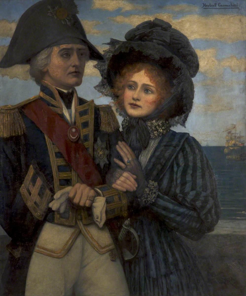 Nelson (1758–1805), and Lady Hamilton (1765–1815)