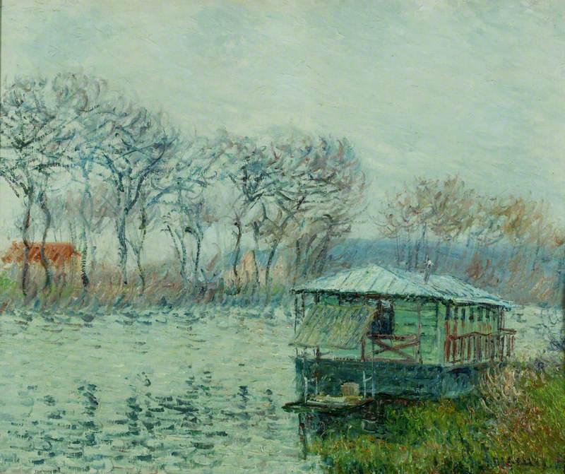 The Seine near Port-Marly