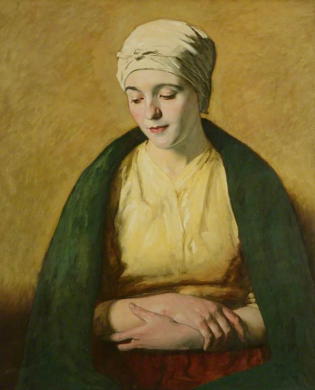 A Belgian Peasant Girl
